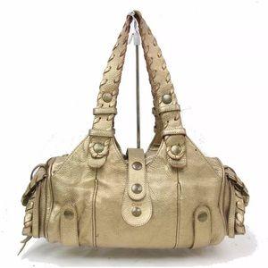 EXC! Chloe Silverado Gold Hobi Bag Purse! SUPER🍒